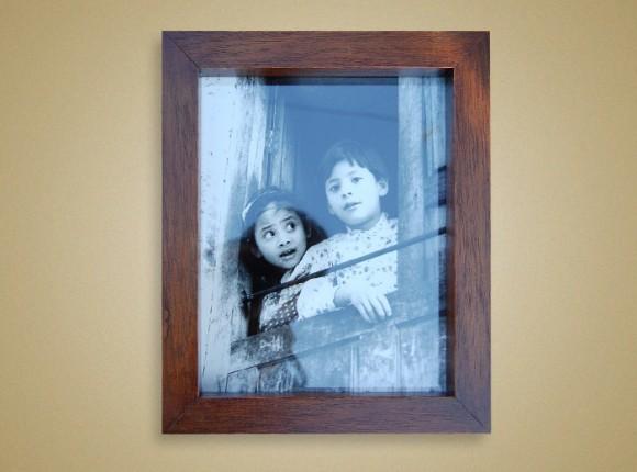 Boy & Girl in Window