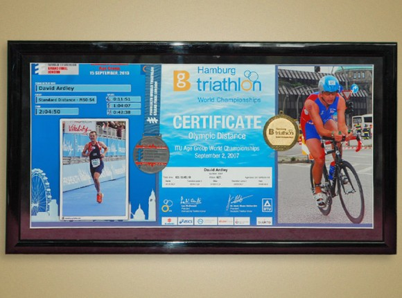 Ironman certificates
