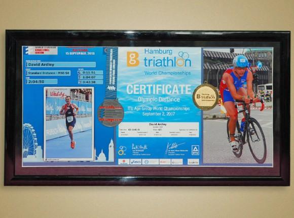 Ironman certificates