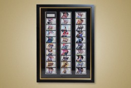 We Frame It - Bespoke picture framing - commemorative stamps