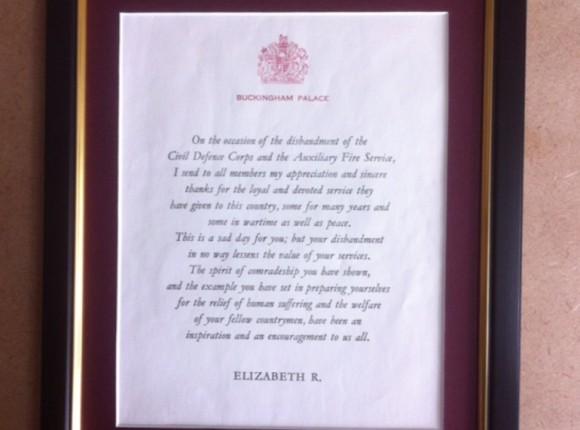 A Royal letter