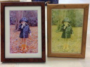 ali framed